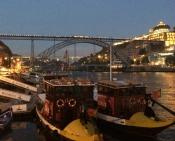 Postkort fra Porto - en juliaften. Jeg ville gerne have været en tur tilbage.